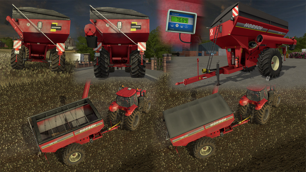 Мод прицеп Horsch UW 160 v 1.0.0.1 Farming Simulator 2017