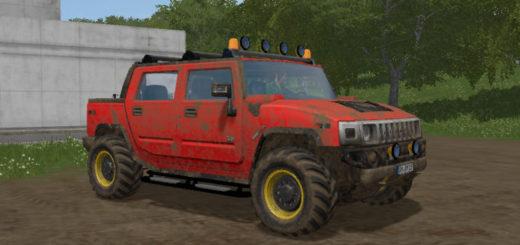 Мод авто HUMMER H2 V1.0 Farming Simulator 17