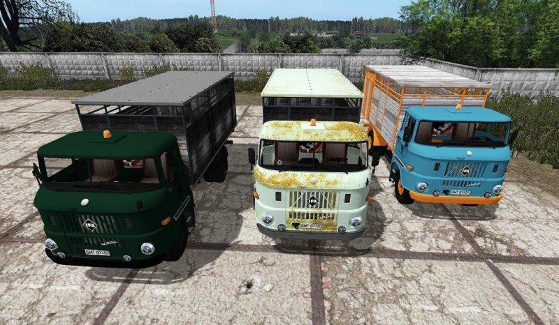 Мод грузовик IFA W50 ANIMAL TRANSPORT V3 FS17