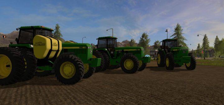 Мод трактор JOHN DEERE 60 SERIES FWA V1.3 Farming Simulator 17