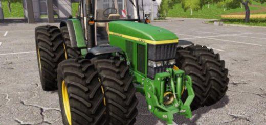 Мод трактор JOHN DEERE 7710 V1.5 Farming Simulator 17