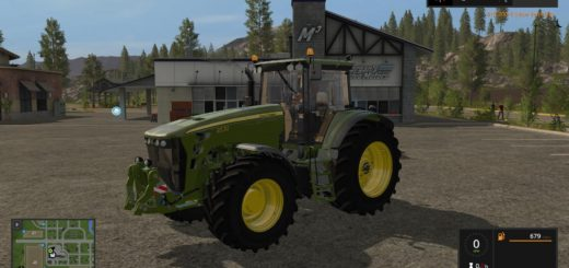 Мод трактор John Deere 8530 BD v 1.0 Farming Simulator 17