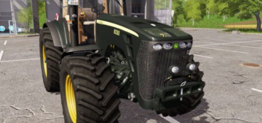 Мод трактор John Deere 8330 Black Limited FS17