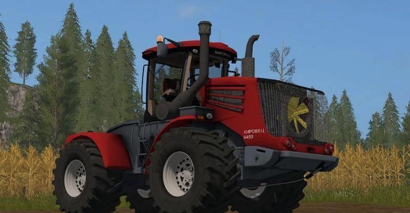 Мод трактор Кировец KIROVETS K9450 V2.0.0.0 Фарминг Симулятор 2017