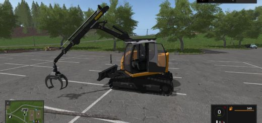Мод Liebherr 914 v 1.0 Farming Simulator 2017