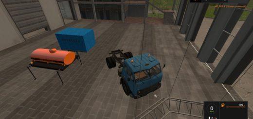 Мод грузовик МАЗ 504 + модули Фермер Симулятор 2017