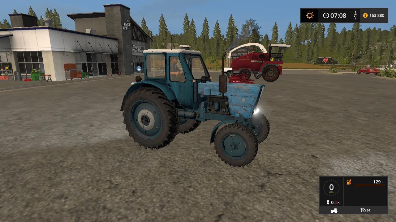 Мод трактор МТЗ MTZ 50 V1.0 Фермер Симулятор 2017