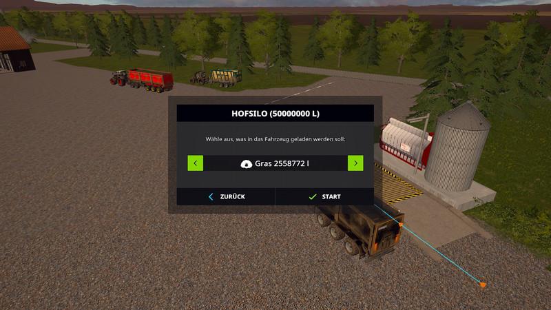 Мод хранилище Multi interim storage V 3.0 Farming Simulator 2017