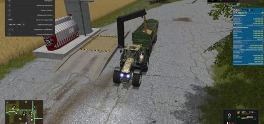 Мод хранилище Multi interim storage V 3.1 Farming Simulator 17