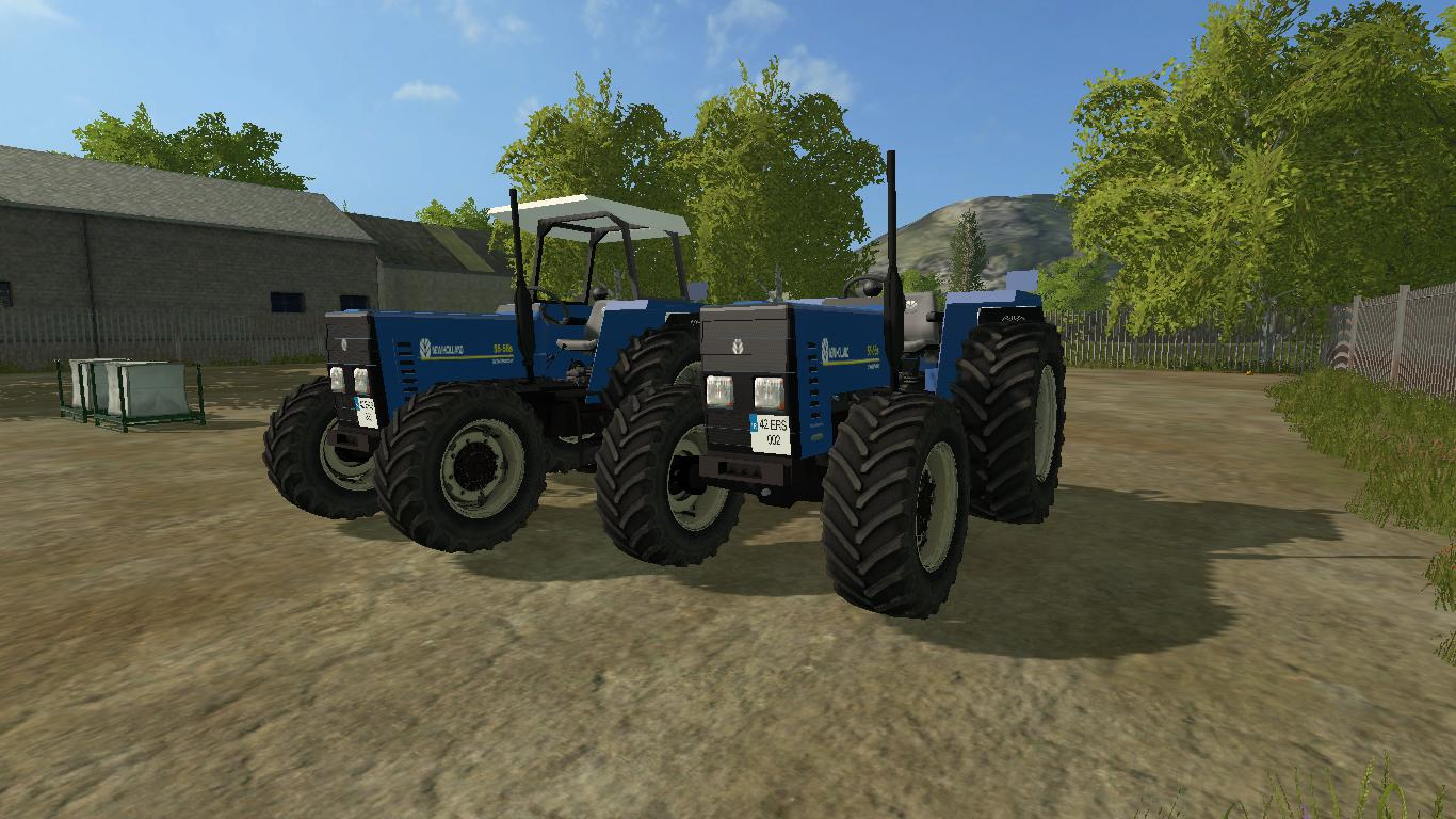 Мод трактор NEW HOLLAND 55 V1.1 Farming Simulator 17