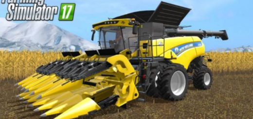 Мод комбайн NEW HOLLAND CR NORTH AMERICAN V1.3 FS17