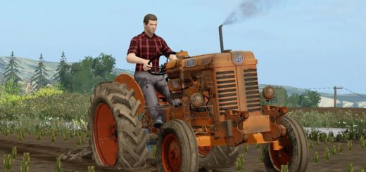 Мод трактор OM 50 R V1.1 + FIX Farming Simulator 17