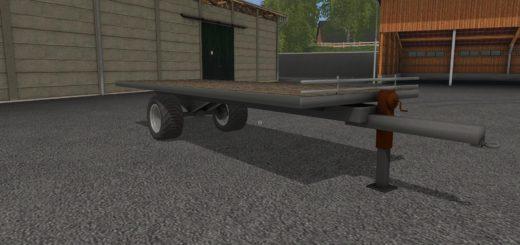 Мод прицеп PLATEAU A PAILLE V1.1.0 Farming Simulator 17