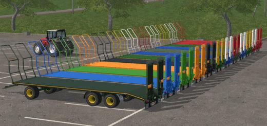 Мод прицеп RANDAZZO PLATFORM PA97I Farming Simulator 2017
