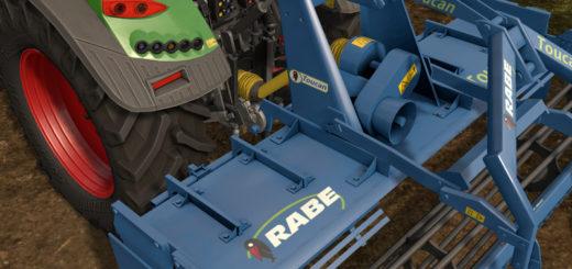 Мод культиватор RABE TOUCAN 3000SL V1.0 Farming Simulator 17