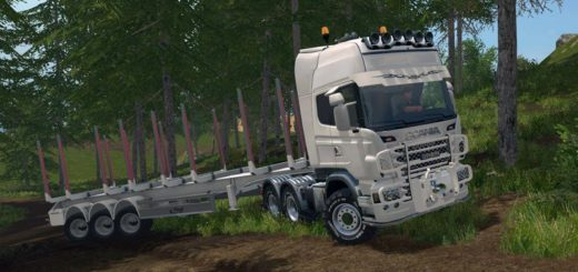Мод тягач SCANIA R730 v1.0.3 Farming Simulator 2017