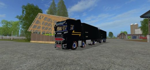 Мод ПАК SCANIA CONOW ARTICULATED LINK V0.1 FS17