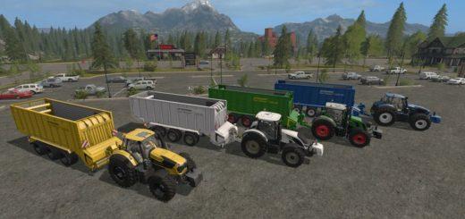Мод прицеп STRAUTMANN TERA VITESSE 5201 DO COLORABLE V1.0 Farming Simulator 17