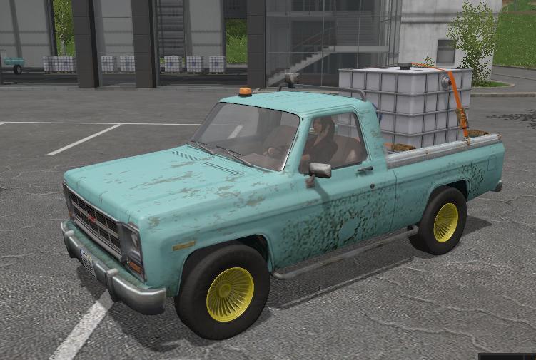 Мод авто Gmc Pickup Truck v 1.0 FS17