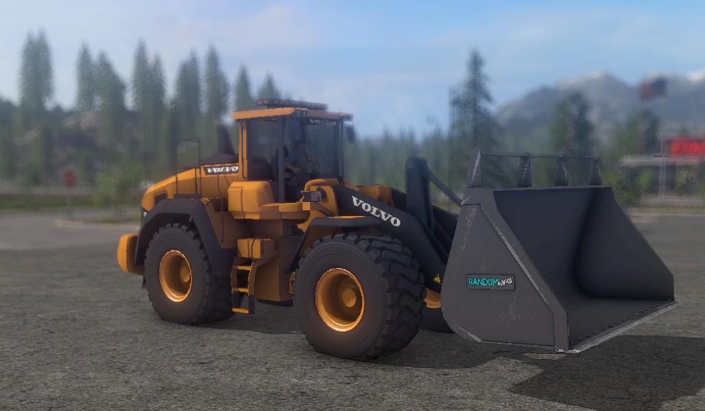 Мод погрузчик VOLVO L220 V4 Farming Simulator 17