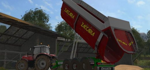 Мод прицеп ZACCARIA ZAM 200 DP8 SUPER PLUS V0.9 BETA FS17