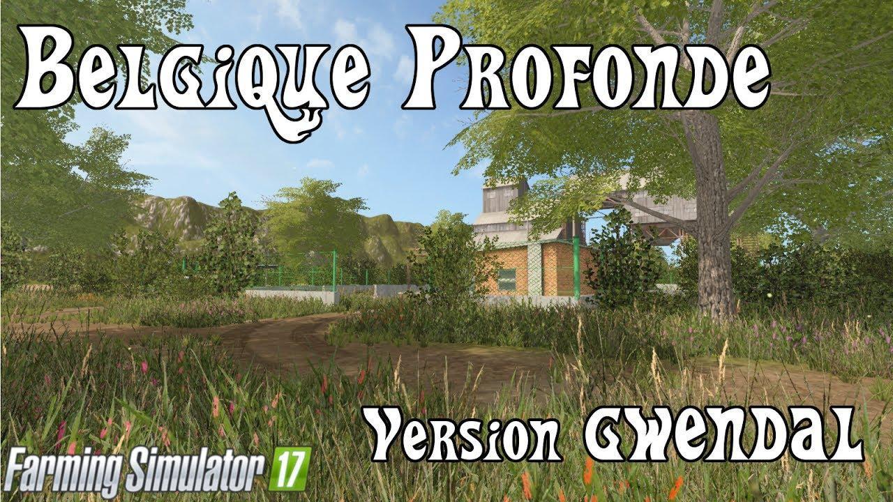 Мод карта Belgique Profonde v 1.0 Farming Simulator 2017