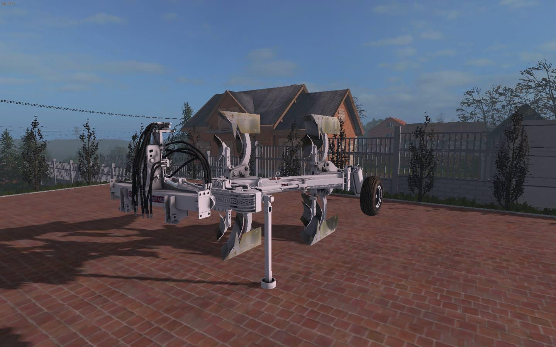 Мод плуг BIVOMERE ER.MO FS V3 Farming Simulator 2017