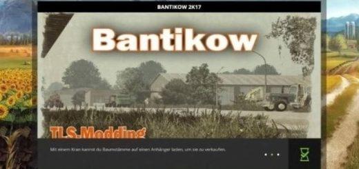 Мод карта Bantikow 2K17 v 1.0 Farming Simulator 17