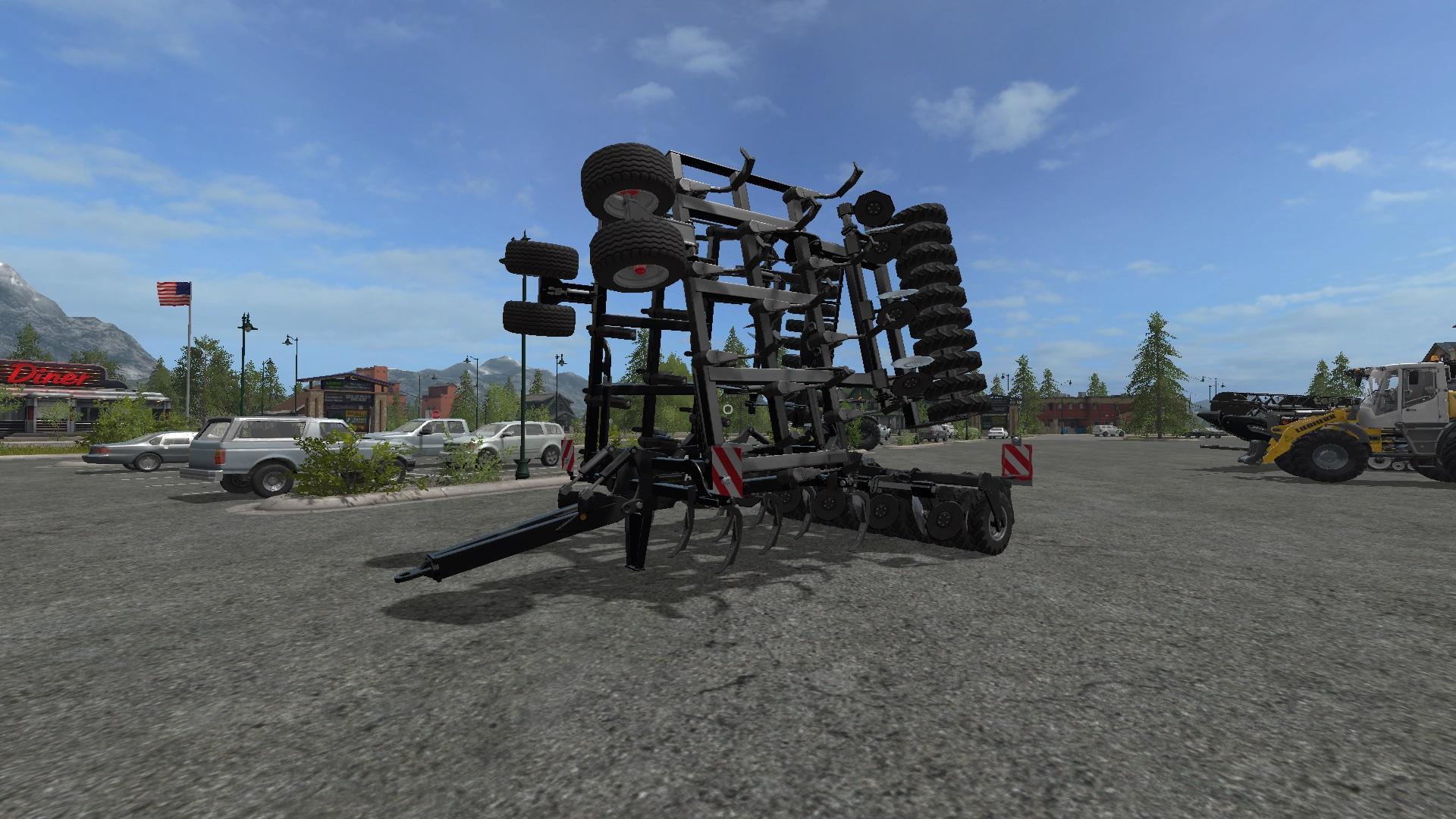 Мод плуг Black horschTiger10LT Plough v 1.2 FS17