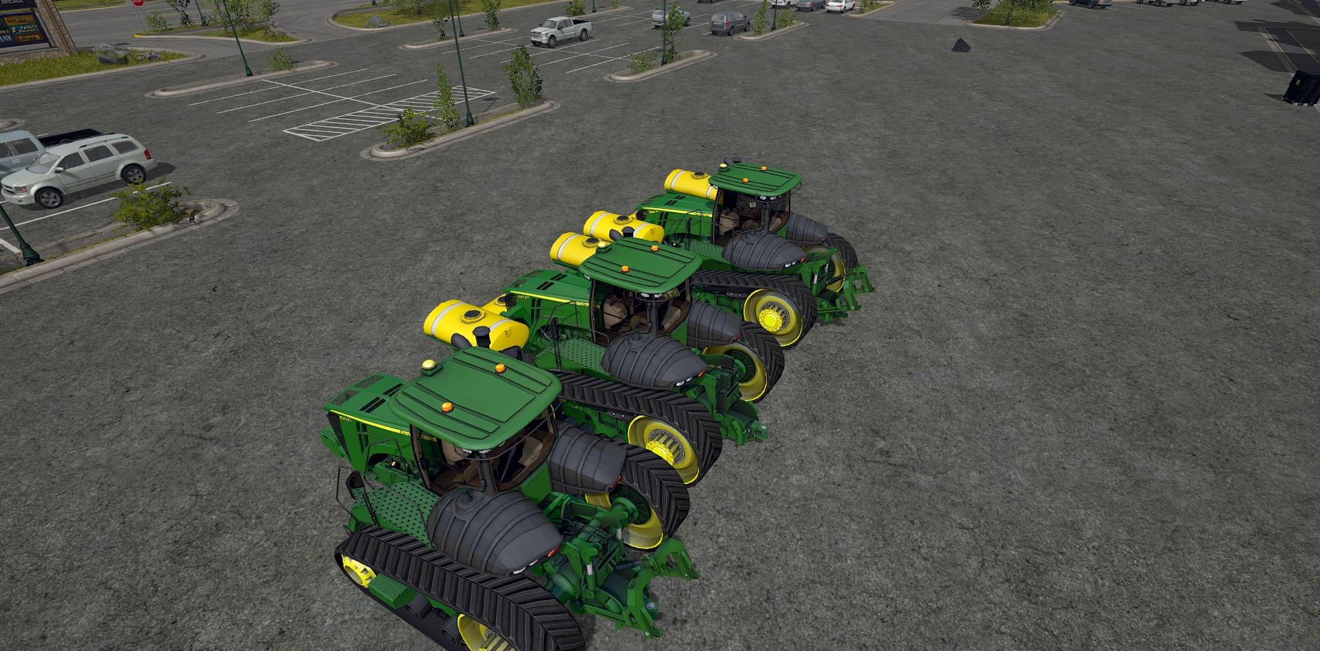Мод трактор JD9RT V1.2 Farming Simulator 2017