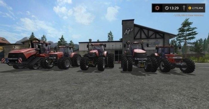 Мод ПАК трактора Case IH v 1.0 FS17