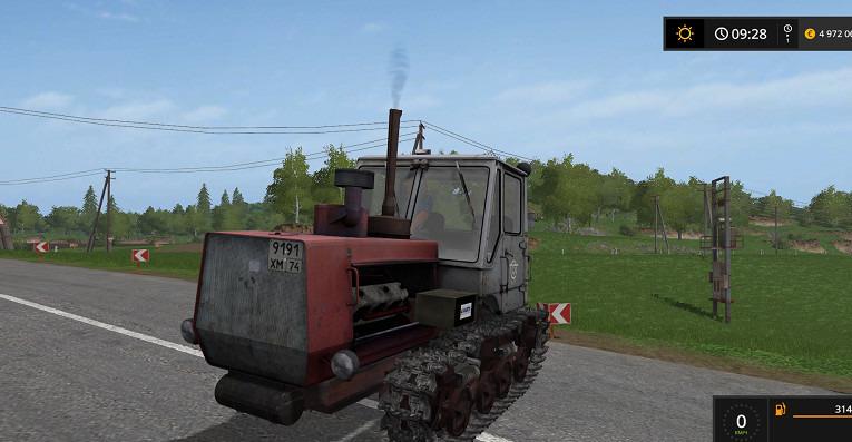Мод трактор Т 150-09-25 v1.3 Фарминг Симулятор 2017