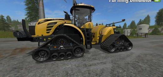 Мод трактор Challenger MT900E Trac v1.2 Farming Simulator 2017