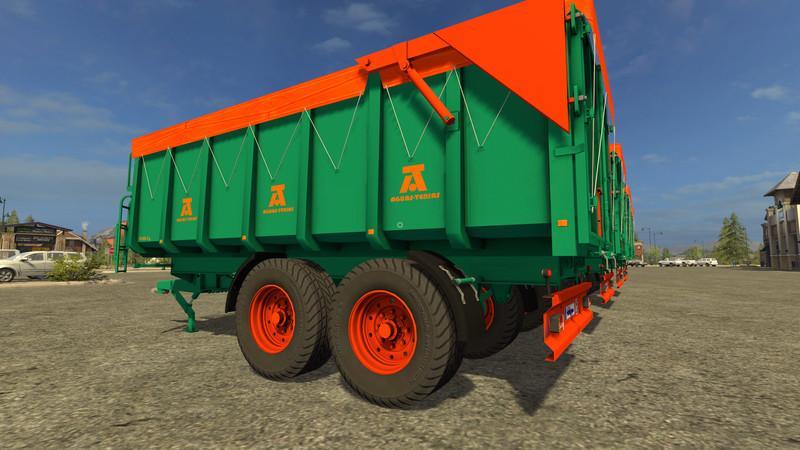 Мод прицеп AGUAS TENIAS TANDEM 18T V1.0 Farming Simulator 17