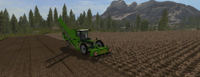 Мод комбайн AVR Puma-3 V1.0.0 Farming Simulator 2017