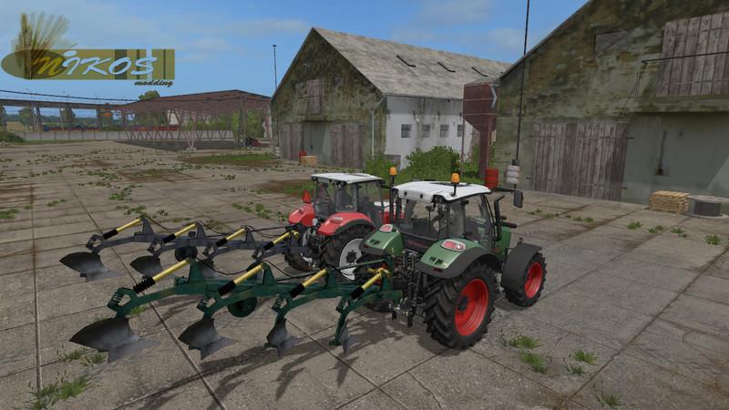 Мод плуг UNIA GRUDZIADZ ATLAS v 1.0 Farming Simulator 2017
