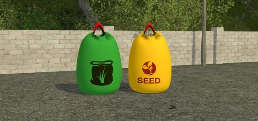 Мод мешки BIG BAGS FERTILIZER & SEEDS V1.0.0.0 FS17