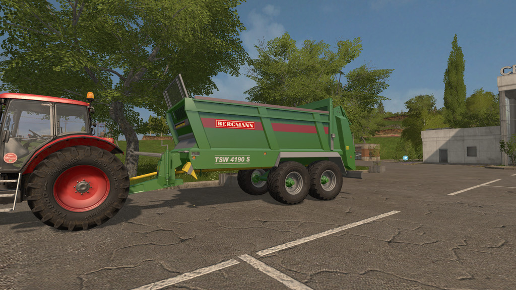 Мод прицеп BERGMANN TSW 4190 S V1.0.0.0 Farming Simulator 17