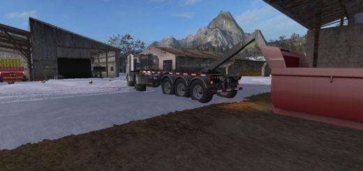 Мод прицеп Biobeltz ITR Semi V1.0 Farming Simulator 2017