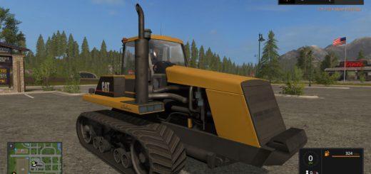 Мод трактор CAT 75C V1.0 Farming Simulator 17