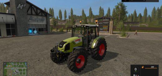 Мод трактор CLAAS AXOS 330 V1.0 Farming Simulator 2017