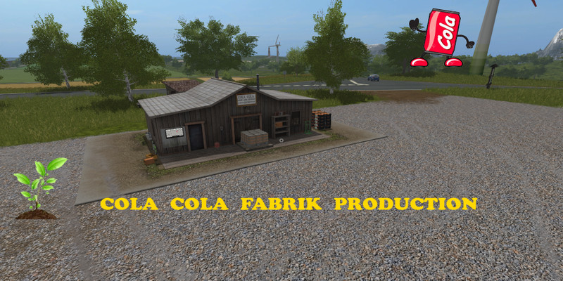 Мод COLA COLA PRODUCTION V1.0 FS17