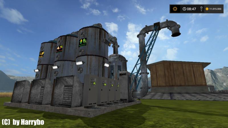 Мод COMPOUND FEEDERS (PIGS) V2.1 Farming Simulator 17