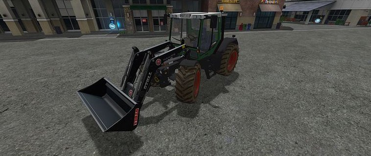 Мод трактор Fendt Xylon 524 v1.1  Farming Simulator 2017