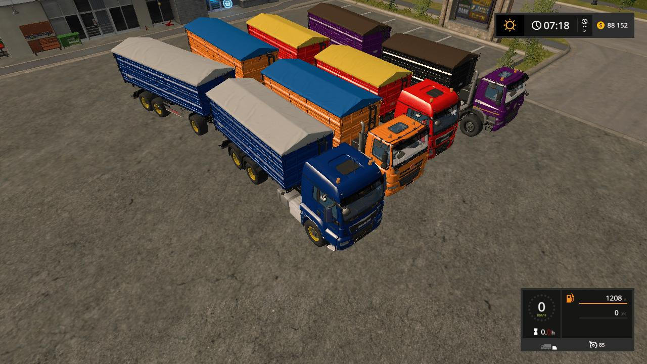 Мод ПАК FLIEGL TRANSPORT PACK V1.0.5.0 FS17