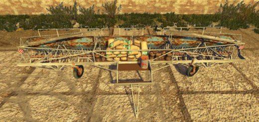 Мод сеялка Fortschritt A203 Farming Simulator 2017