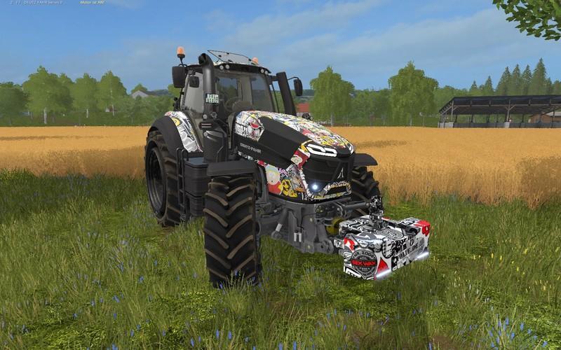 Мод противовес GREVE BOMB WEIGHT 4T. V2.0 Farming Simulator 17