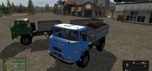 Мод ПАК грузовиков IFA L60 WITH HW80 V1.0.0.0 FS17