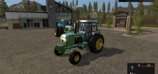 Мод трактор John Deere v1.1 FS17