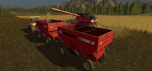 Мод прицеп JM 680SD GRAVITY WAGON V1.0 Farming Simulator 2017